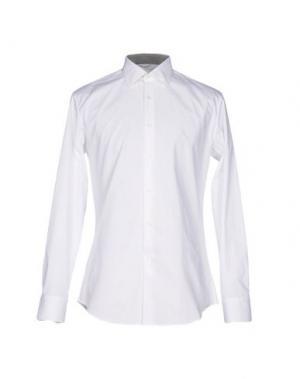 Pубашка HARRY & SONS. Цвет: белый