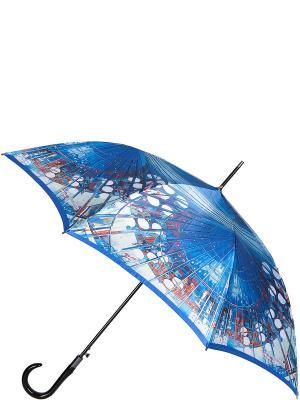 Зонт Eleganzza. Цвет: синий, голубой, темно-красный