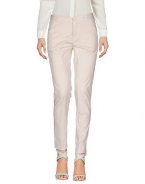 Повседневные брюки FAIRLY. Цвет: светло-серый