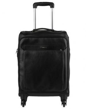 Чемодан/сумка на колесиках GIUDI. Цвет: черный