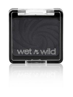 Тени для век одноцветные color icon eyeshadow sing, Тон E2553 Wet n Wild. Цвет: черный