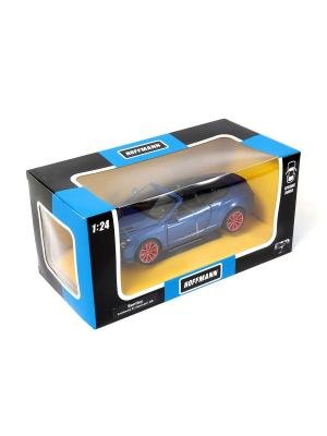 Машина металлическая Bentley Continental GT Supersport Coupe HOFFMANN. Цвет: синий
