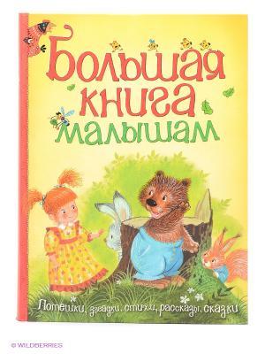 Большая книга малышам Издательство Махаон. Цвет: белый