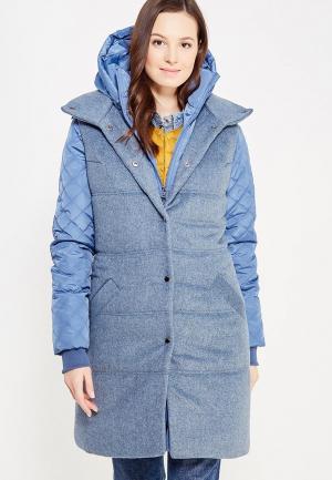 Комплект жилет и куртка DuckyStyle. Цвет: синий