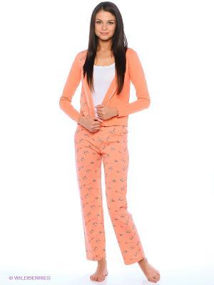 Комплект Milana Style. Цвет: оранжевый