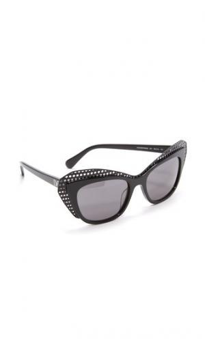 Солнцезащитные очки «кошачий глаз» Alexa Diane von Furstenberg