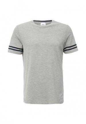 Футболка Burton Menswear London. Цвет: серый