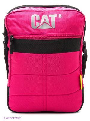 Сумка Caterpillar. Цвет: розовый
