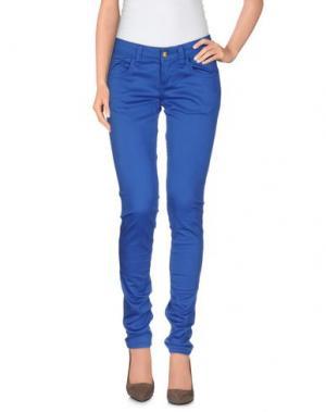 Повседневные брюки MONKEE GENES. Цвет: синий