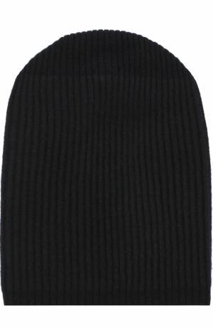 Кашемировая шапка бини Tegin. Цвет: черный