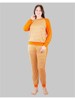 Костюм Aldani. Цвет: серый, оранжевый