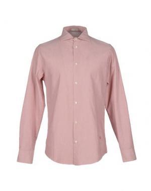 Pубашка (+) PEOPLE. Цвет: пурпурный