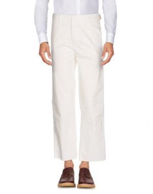 Повседневные брюки HAIKURE. Цвет: слоновая кость