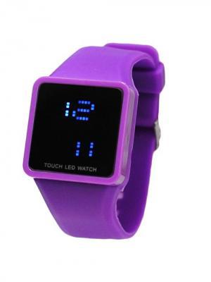 Часы Leg (фиолетовые) Kawaii Factory. Цвет: фиолетовый