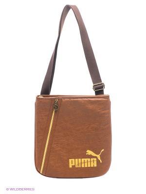 Сумка Edition I-Portable PUMA. Цвет: коричневый