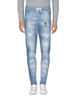 Повседневные брюки LA KASA DEI KOLORI. Цвет: пастельно-синий