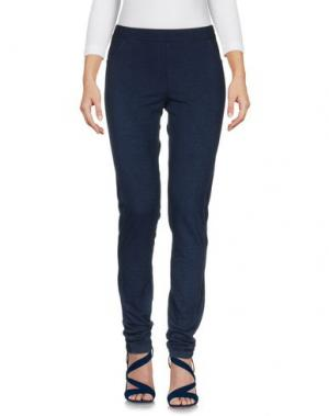 Джинсовые брюки LA FABBRICA del LINO. Цвет: синий