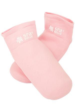 Увлажняющие гелевые носочки SPA BELLE. Цвет: розовый