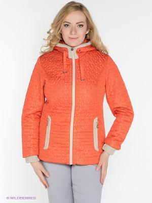 Куртка X'cluSIve. Цвет: оранжевый