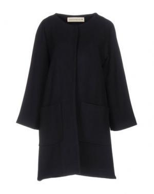 Пальто SHIRTAPORTER. Цвет: темно-синий