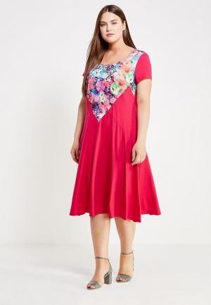 Платье Svesta. Цвет: фуксия