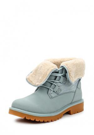 Ботинки Strobbs. Цвет: голубой