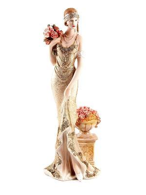Статуэтка Мисс Нежность Русские подарки. Цвет: кремовый