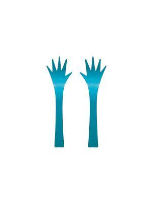 Набор для салата Zak!designs. Цвет: голубой