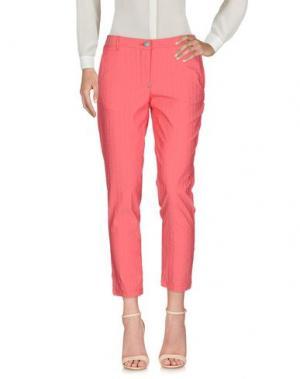 Повседневные брюки WHITE SAND 88. Цвет: коралловый