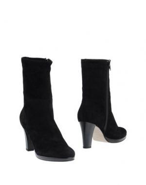 Полусапоги и высокие ботинки NOË. Цвет: черный