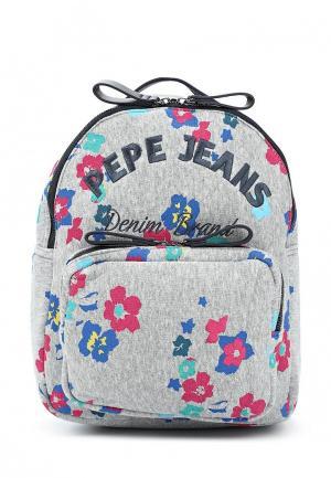 Рюкзак Pepe Jeans. Цвет: серый