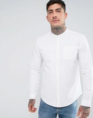 Another Influence Рубашка с воротником на пуговицах. Цвет: белый