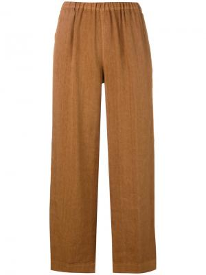 Portia cropped trousers Ql2. Цвет: телесный