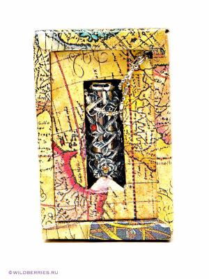 Брелок Калейдоскоп Экспедиция. Цвет: золотистый, черный