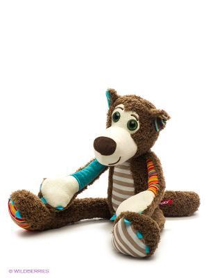 Мягкая игрушка Волчонок Fancy. Цвет: коричневый