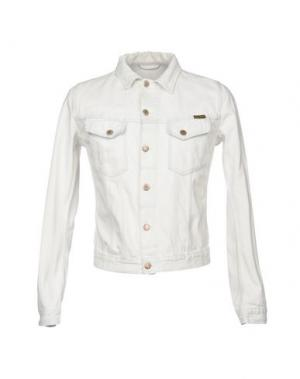 Джинсовая рубашка NUDIE JEANS CO. Цвет: белый