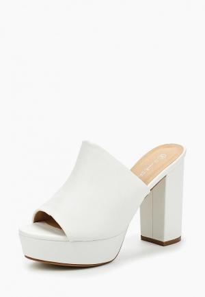 Сабо Sweet Shoes. Цвет: белый