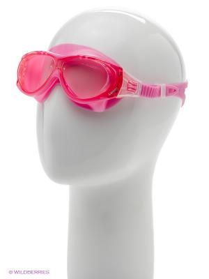 Очки плавательные DK6 Larsen. Цвет: розовый