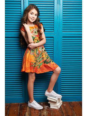 Платье Цветы мандарина I love to dream
