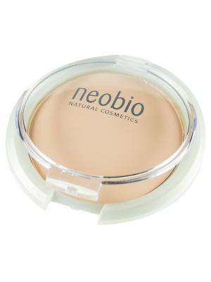 Компактная пудра 01 светло-бежевая Neobio. Цвет: бежевый