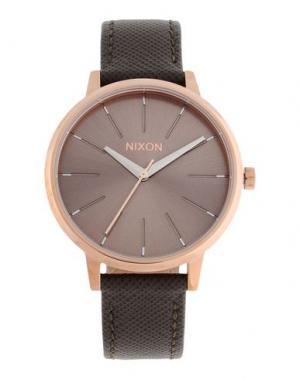 Наручные часы NIXON. Цвет: хаки