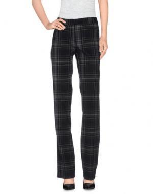 Повседневные брюки MORGAN DE TOI. Цвет: черный