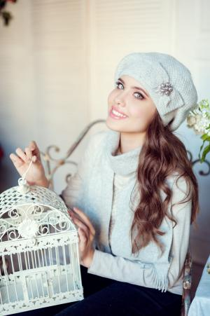 Комплект серафима (шапка+шарф) Landre
