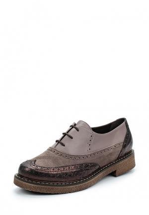 Ботинки Allora. Цвет: фиолетовый