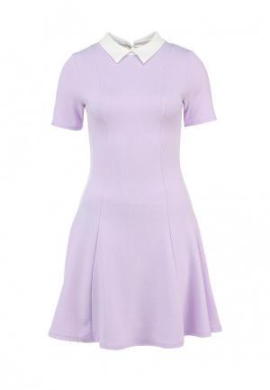 Платье Girlondon. Цвет: фиолетовый