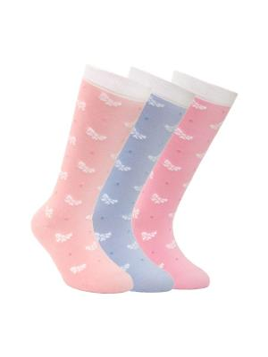 Гольфы  TIP-TOP 7С-21СП, комплект 3 пары Conte Kids. Цвет: оранжевый, розовый, фиолетовый