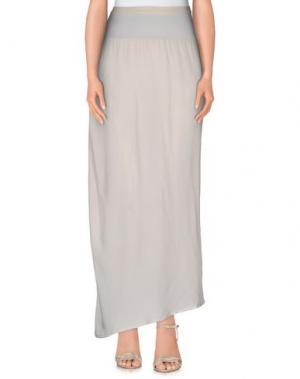 Длинная юбка NICOLAS & MARK. Цвет: светло-серый