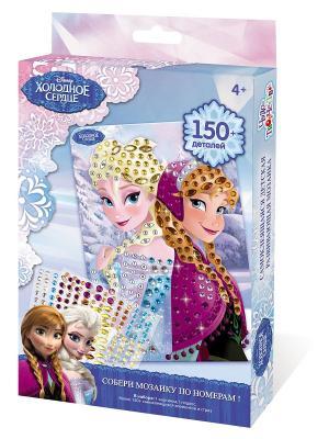 Чудо -Творчество. Disney Мозаика  -сингл Frozen Чудо-творчество. Цвет: желтый, голубой, фиолетовый