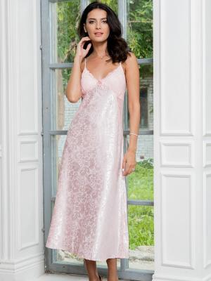 Ночная сорочка MIA-AMORE. Цвет: бледно-розовый