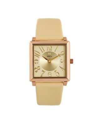 Часы ювелирные коллекция Q-Four QWILL. Цвет: золотистый